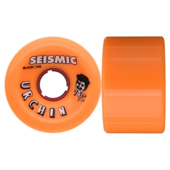 Seismic 70mm 78A Urchin Orange