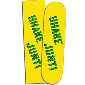 Shake Junt Griptape Yellow/Green