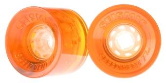 Seismic 77mm, 75A Speedvent (Orange)