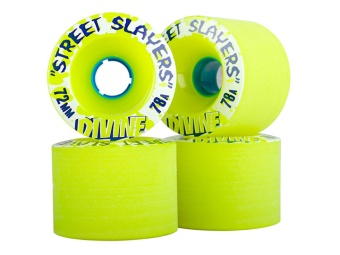 Divine 72mm, 78A Street Slayers (Lime)