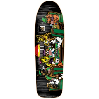 Almost 9.625 Mullen Dog Poker R7 Skateboard