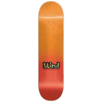 Blind 8.0 OG Spray Fade Red Skateboard