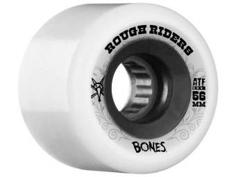 Bones Rough Rider 56mm White (ATF)