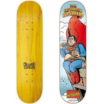 Cruzade 8.625 Superhero Skateboard