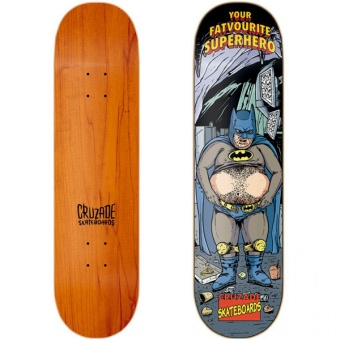 Cruzade 8.875 Superhero Skateboard