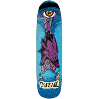 Cruzade 8.5 Bat Skateboard