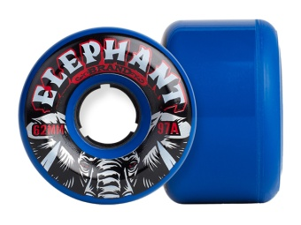 Elephant 62mm Pool Wheels 97A (Blue)