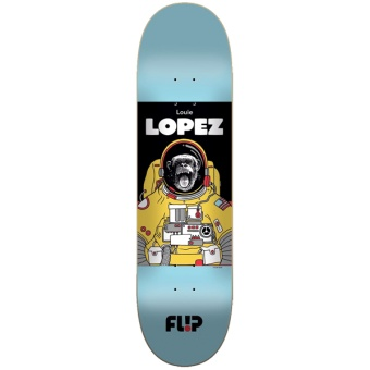 Flip 8.25 Lopez Space Monkey Skateboard