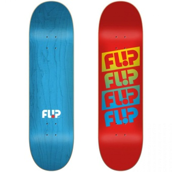 Flip 7.75 Team Quattro Faded Red