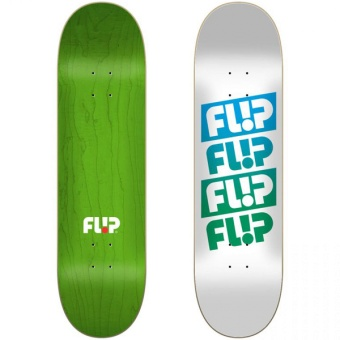 Flip 7.5 Team Quattro Faded White