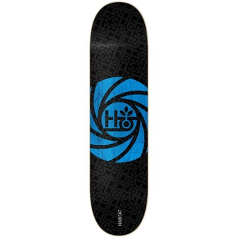Habitat 8.5 Optical Black Skateboard