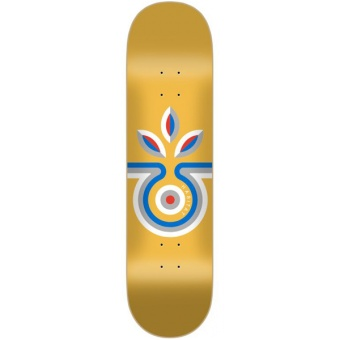 Habitat 8.375 Striped Bloom Skateboard