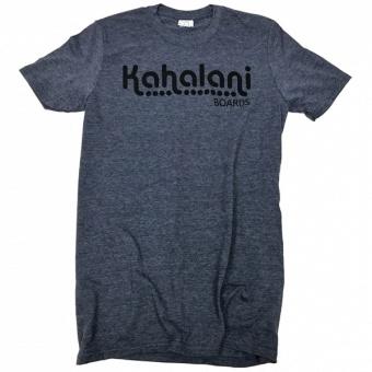 Kahalani t-shirt logo Heather Navy