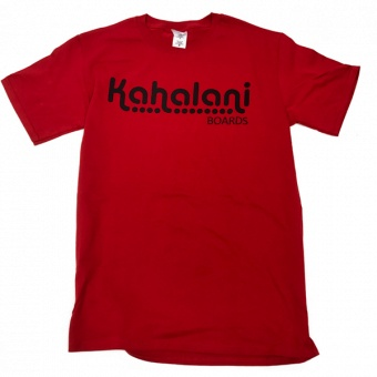 "Kahalani t-shirt ""The Bear and the Snake"" Red"