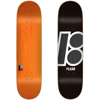PlanB 7.75 Team Stain Blk deck