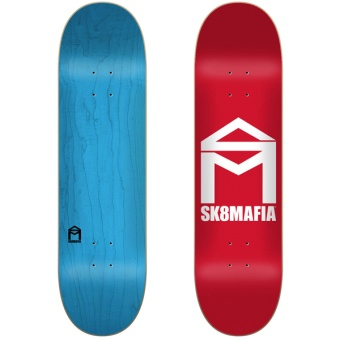 Sk8mafia 8.0 House Logo Red deck