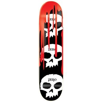 Zero 8.125 - 3 Skull Blood Black