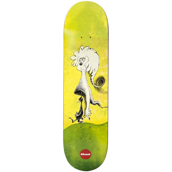 Almost 8.0 Max Dr. Seuss R7 Skateboard