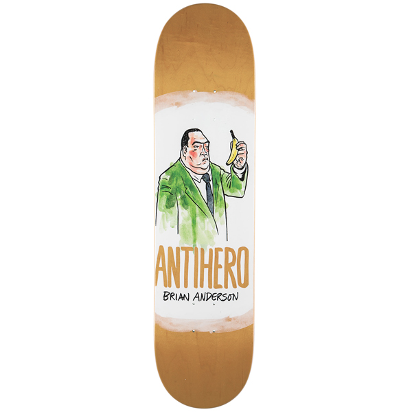 Antihero 8.12 Anderson Devolution Skateboard