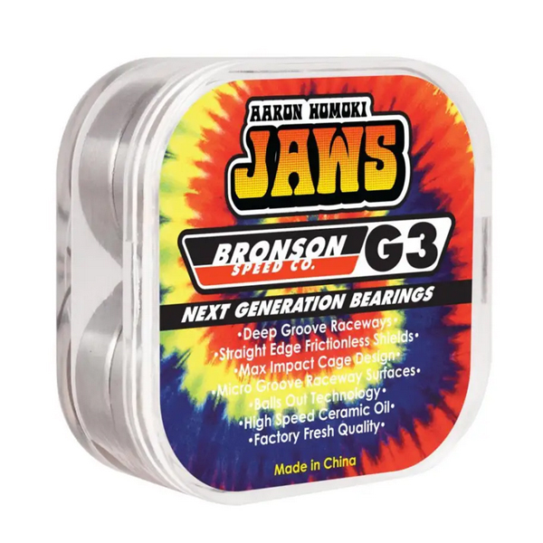 Bronson Jaws Pro G3 Bearings