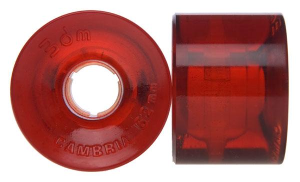 Seismic 62mm 80A Cambria (Röd)