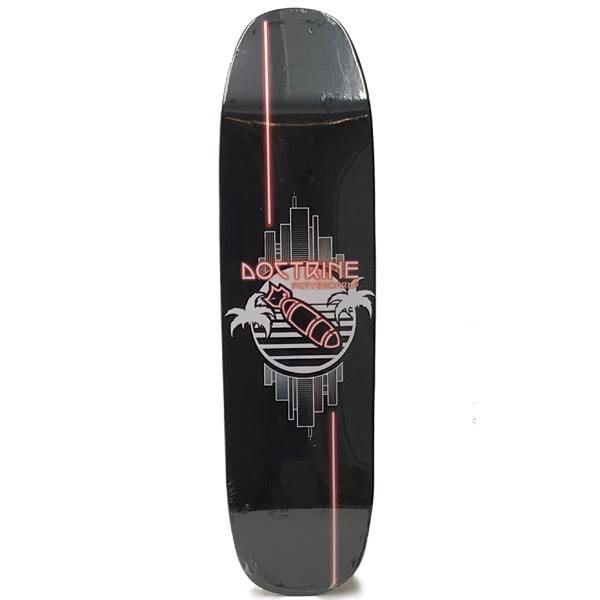 Doctrine 8.5 Neon Bomber Pool Skateboard