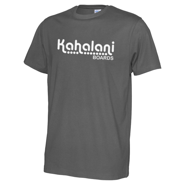 Kahalani t-shirt logo Charcoal