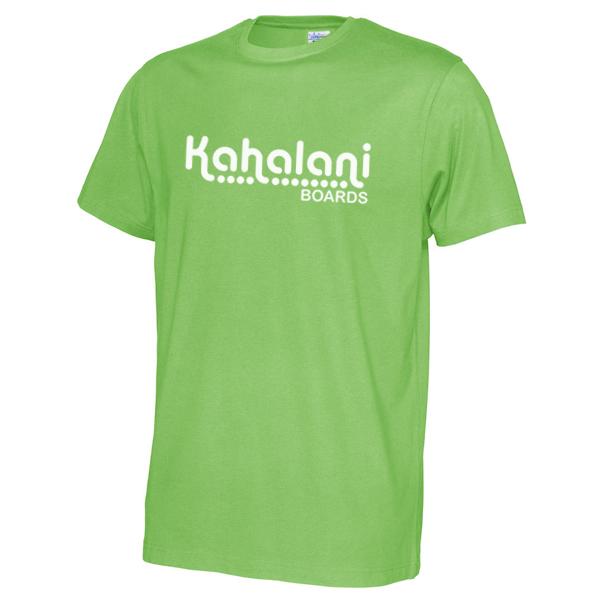 Kahalani t-shirt logo Green