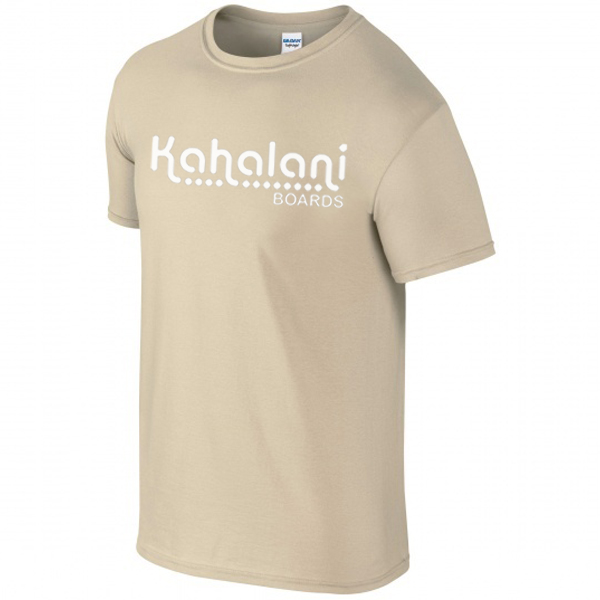Kahalani t-shirt logo Sand