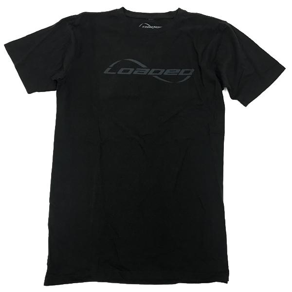 Loaded t-shirt logo Blk