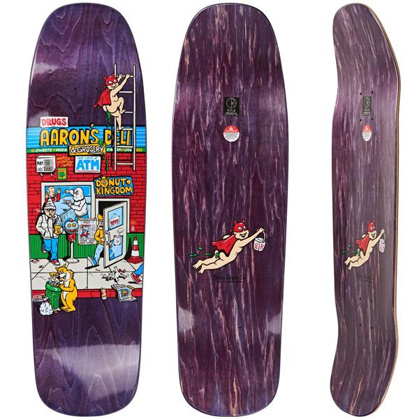 Polar 9.25 Aaron's Deli 1992 Skateboard