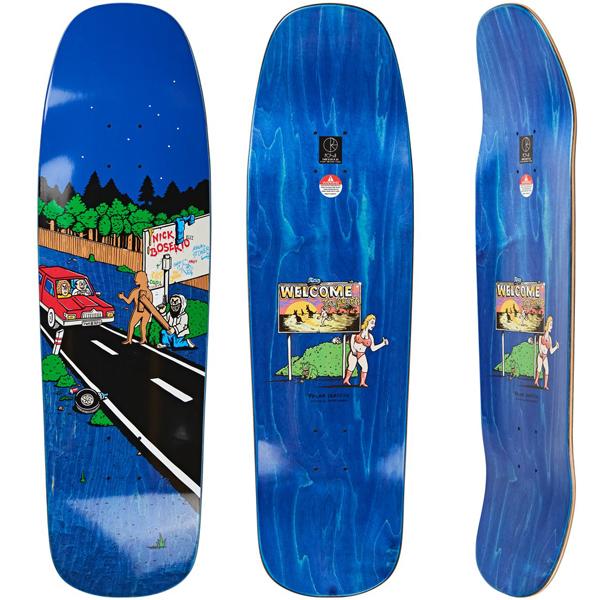 Polar 9.25 Welcome to Perth 1992 Skateboard