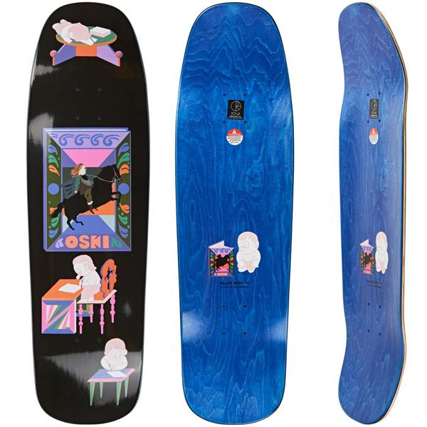 Polar 9.25 The Hero's Journey 1992 Skateboard