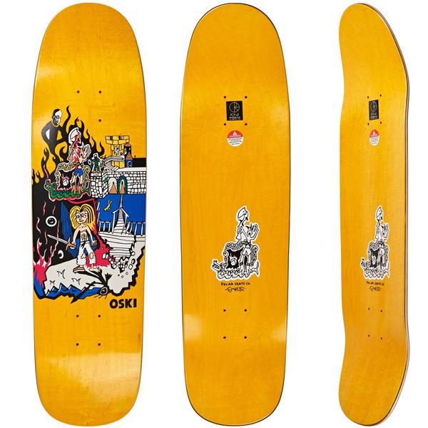 Polar 8.625 Castle Hood P9 Skateboard