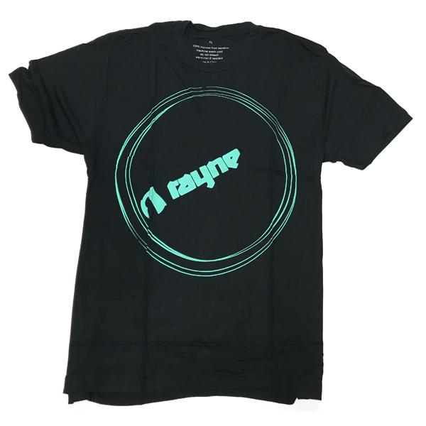 Rayne bamboo t-shirt Circle Blk