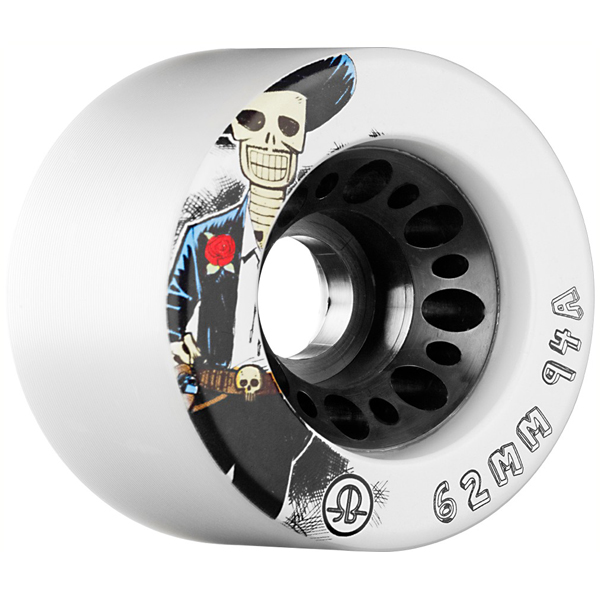 Rollerbones 62mm, 94A (White)