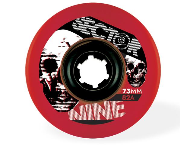 Sector9 73mm Freeride 82A (Röd)