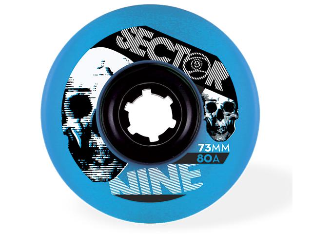Sector9 73mm Freeride 80A (Blå)