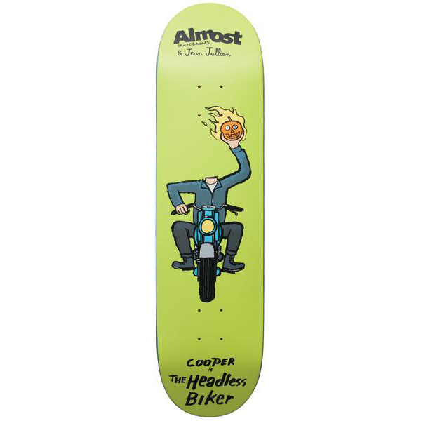 Almost 8.375 Cooper Monster R7 Skateboard