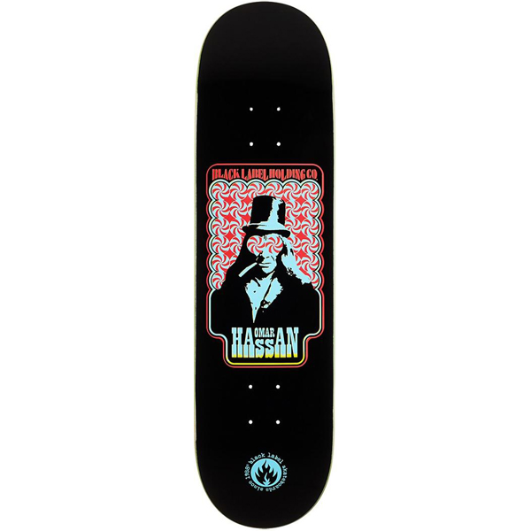 Black Label 8.38 Holding Co. Skateboard