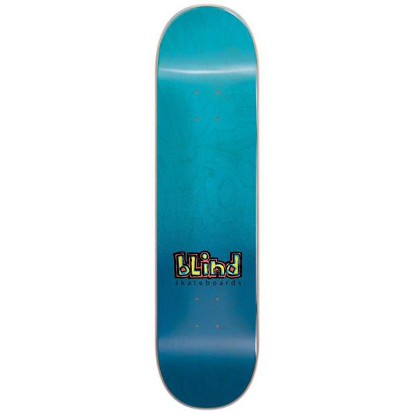 Blind 7.5 OG Spray Fade Blue Skateboard