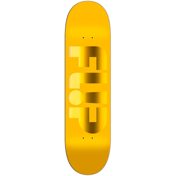 Flip 8.13 Odyssey Forged Yellow Skateboard