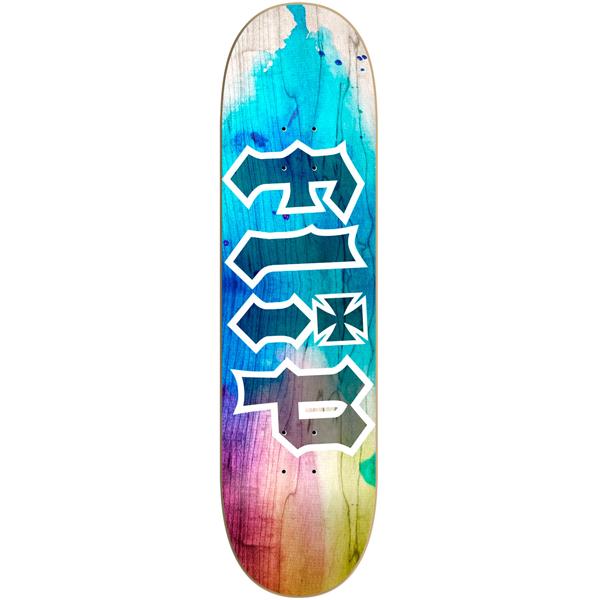 Flip 8.25  HKD Tie Dye Blue Skateboard