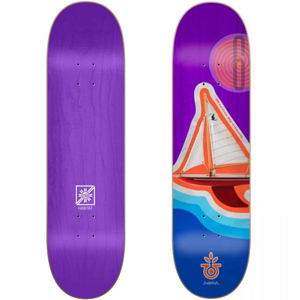 Habitat 8.375 Syvanen Contour Skateboard
