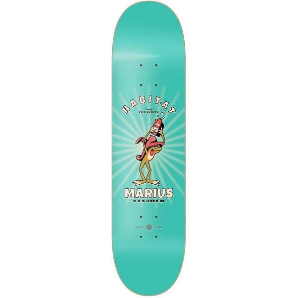 Habitat 8.0 Celluloid skateboard