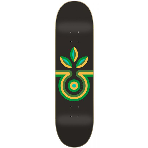 Habitat 8.25 Striped Bloom Skateboard