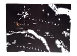 Åre Karta Bordsunderlägg