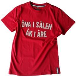 Öva i Sälen åk i Åre, röd