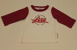 Åre Jamtland baseball t-shirt, vit-röd