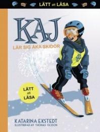 Kaj lär sig åka skidor - lätt